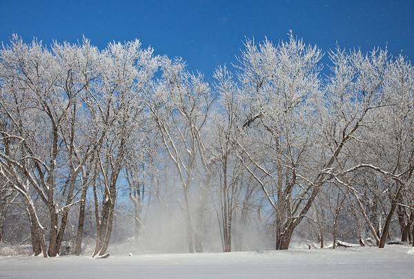Snowy blast