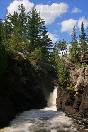 Vermillion River Falls Flowing