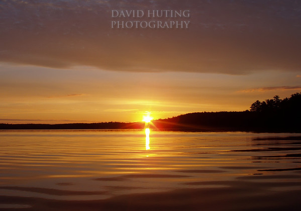 Pristine Boundary Waters Sunrise
