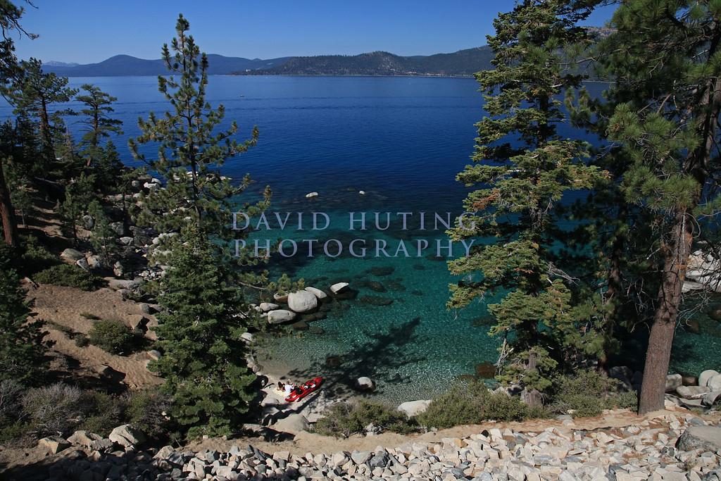 Kayak Resting on Lake Tahoe
