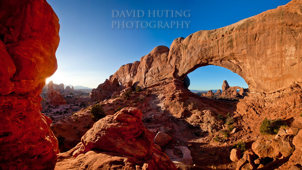 """Another World ""<br /> Arches National Park, UT<br /> A 12-shot vertical panoramic taken December 2011<br /> For epic canvas prints, visit:<br /> <a href=""http://www.epicwallart.com/collections/the-american-southwest/products/another-world-arches"">http://www.epicwallart.com/collections/the-american-southwest/products/another-world-arches</a>"