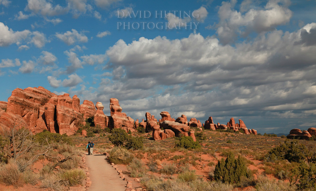 Hiking Arches