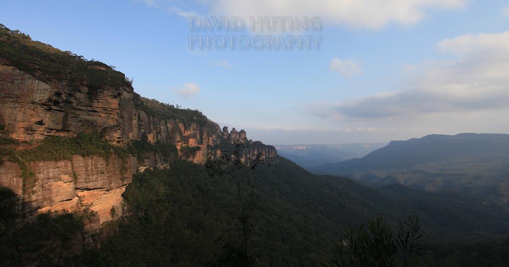 Three Sisters Panoramic View