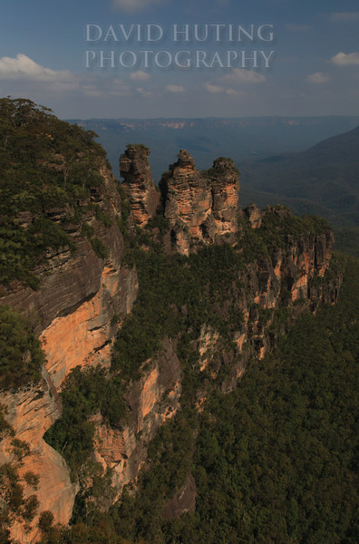 Three Sisters Vertical View