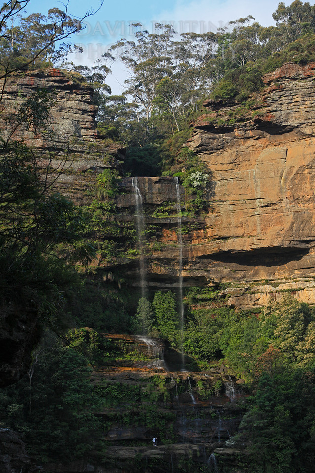 Katoomba Falls View - Hiker