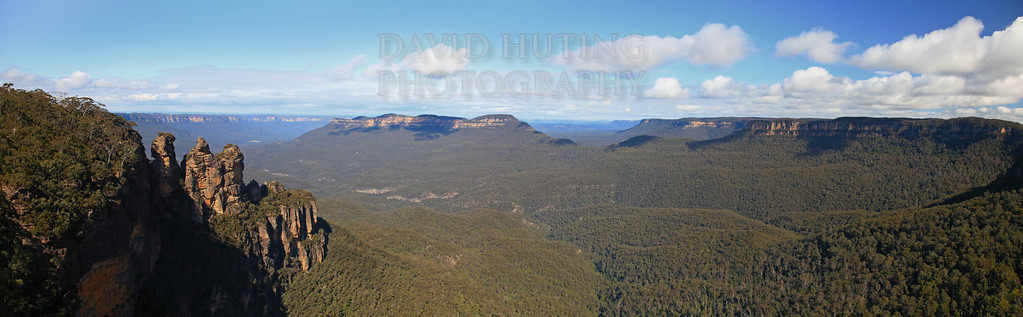 Three Sisters Panoramic View