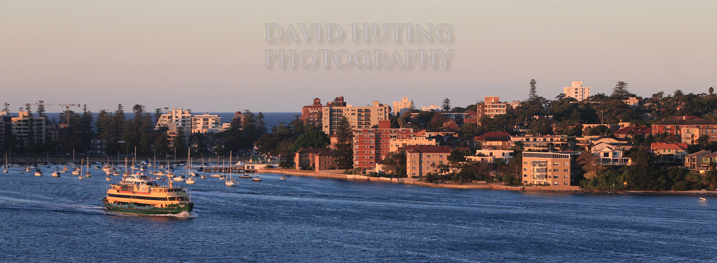 Ferry Leaving Manly