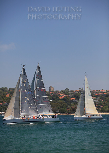 Sailing Middle Harbour