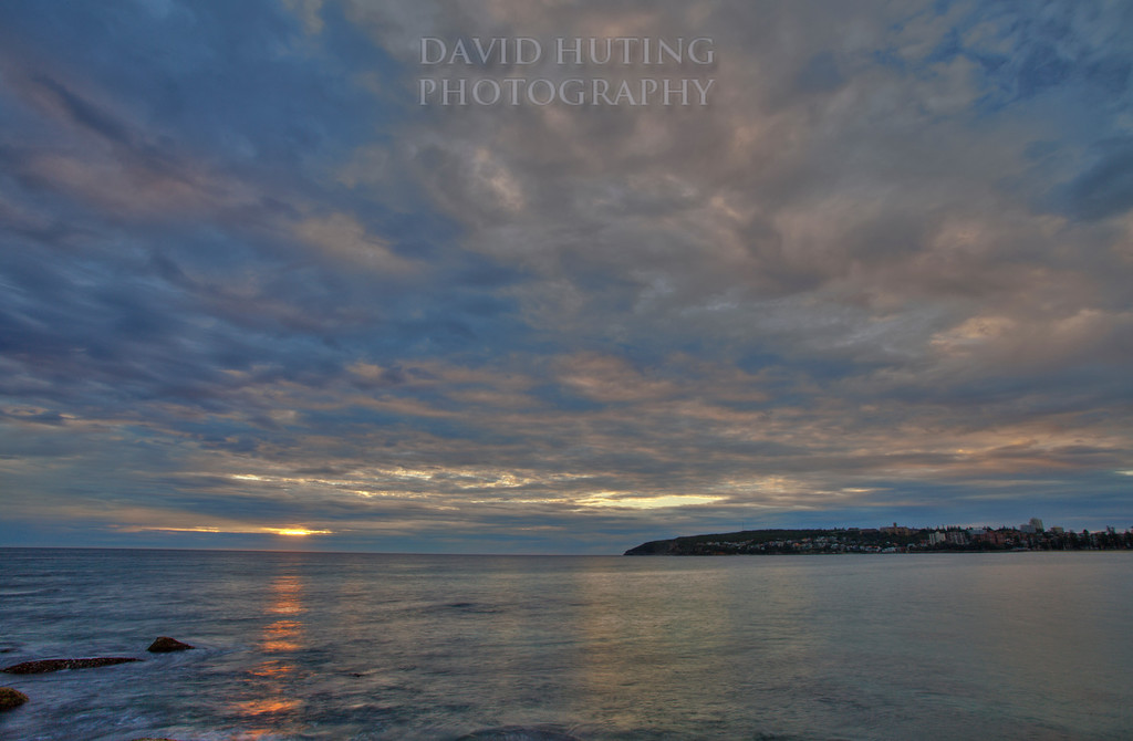 Manly Sunrise Skies HDR Best