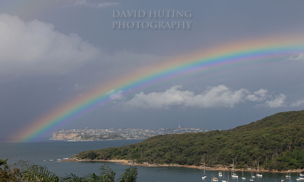 Rainbow Over South Head
