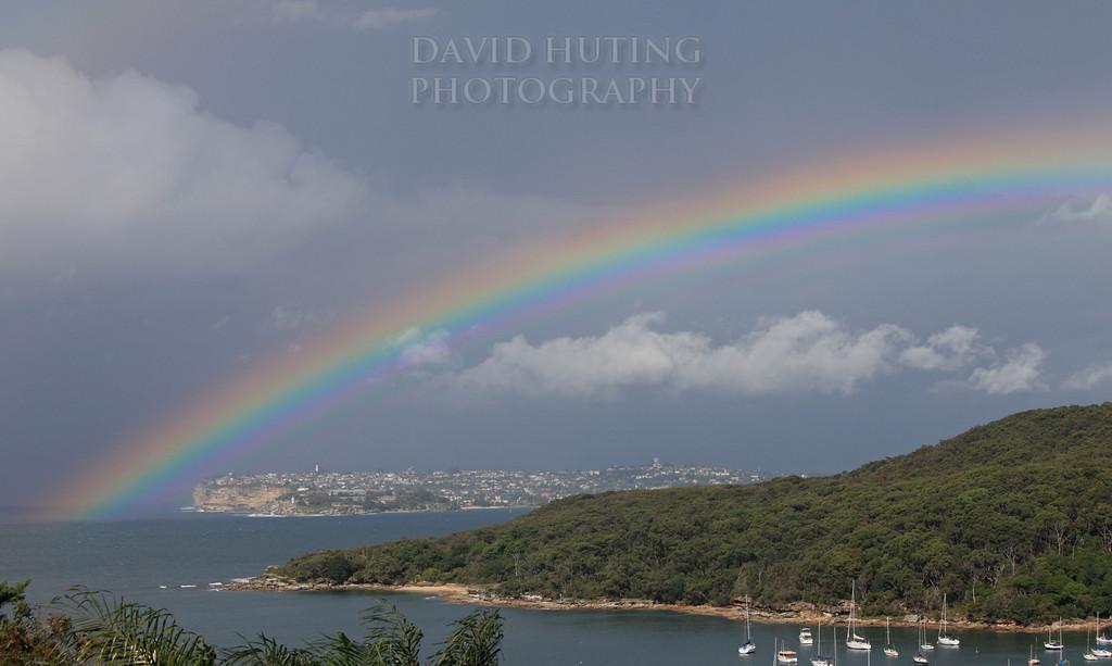 Rainbow Over South Head