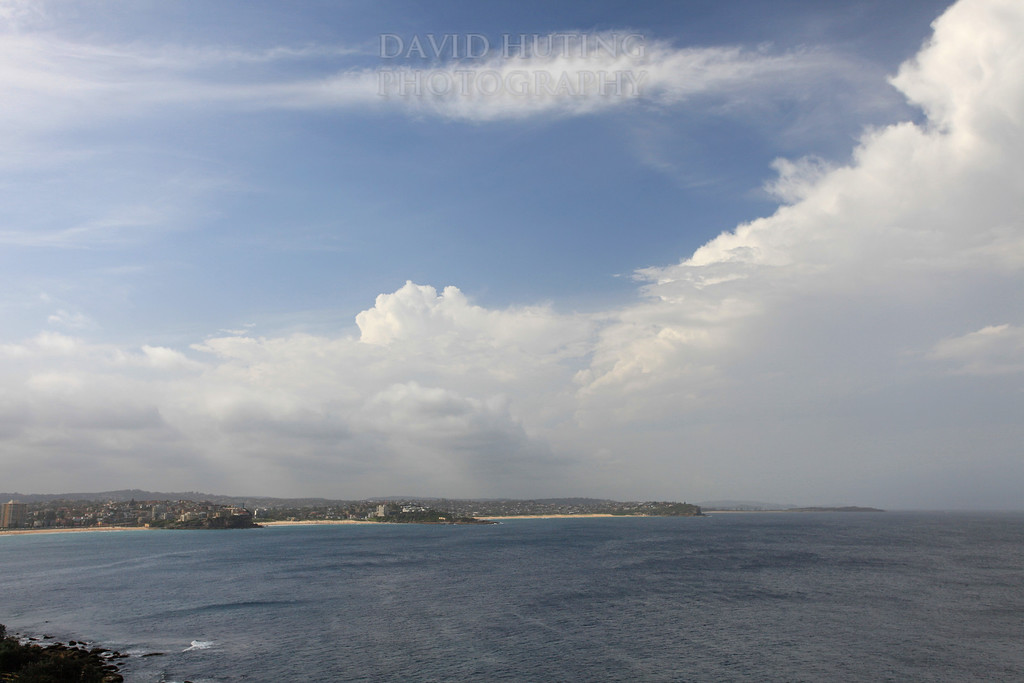 Northern Beaches Cloudy Afternoon View