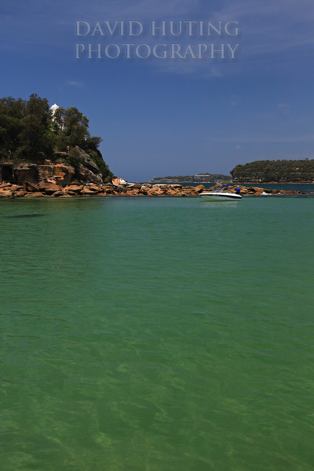 Green Waters near Middle Head