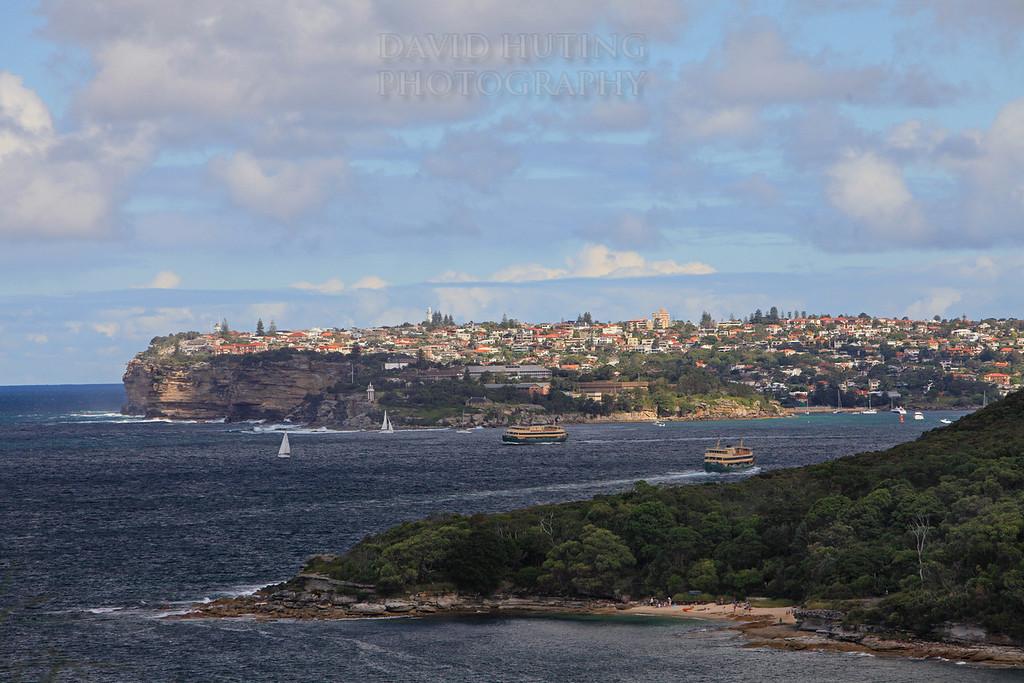 Sydney Heads Sunset View