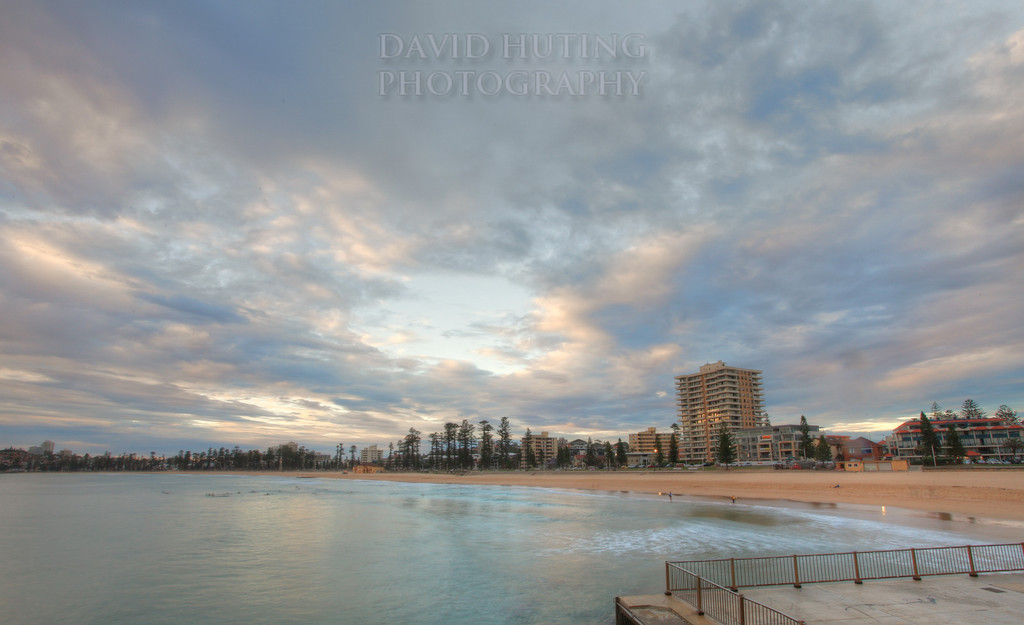 Manly Sunrise Beach View HDR deec