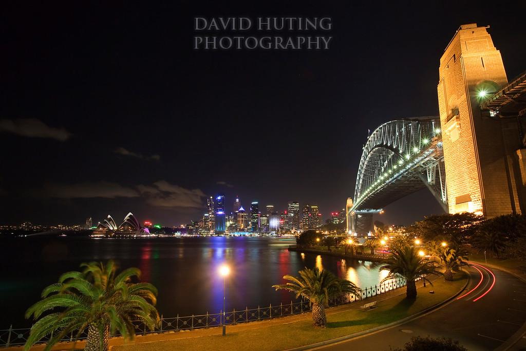 Sydney Bridge &  Colorful City View