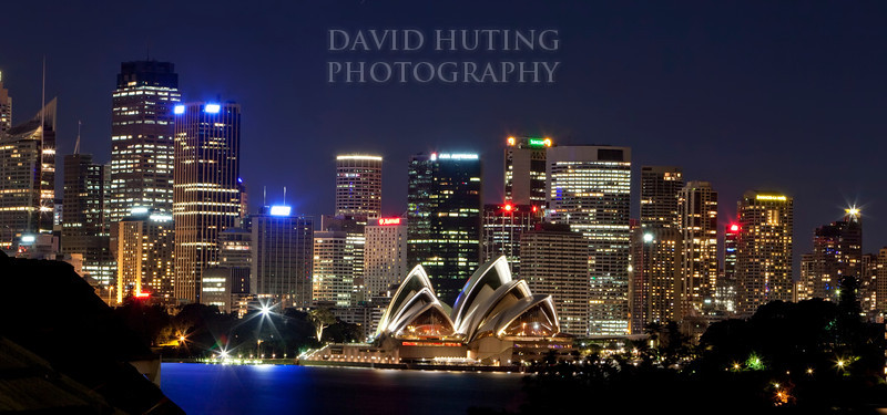 Opera House City View Night