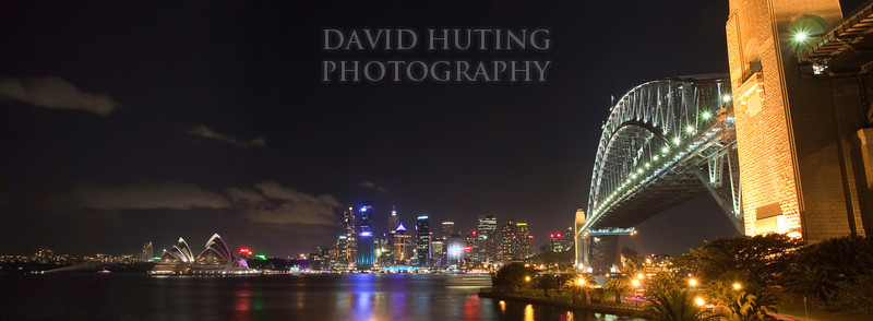 Harbour Bridge Night Pano