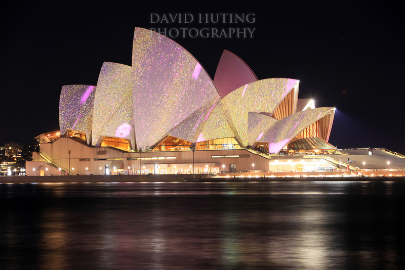 Glowing Opera House