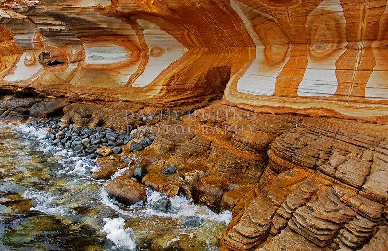 Painted Cliffs at Maria Island