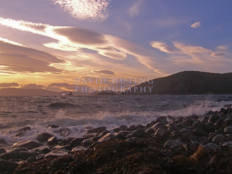 Crazy Sunset Skies<br /> Bruny Island