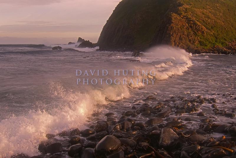 Waves Crashing near Bruny Island
