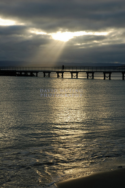 Walking to Heaven<br /> Maria Island Pier, Tasmania