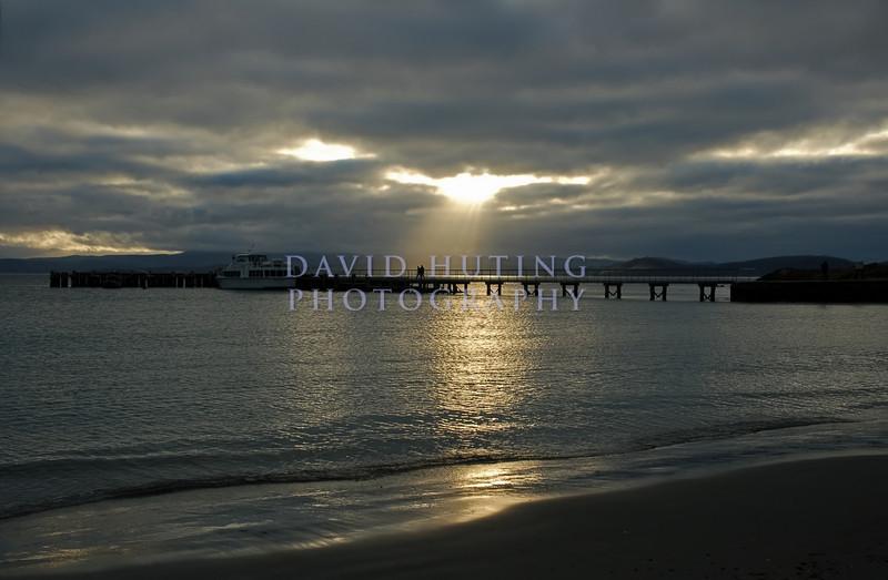 Sunset Pier<br /> Maria Island