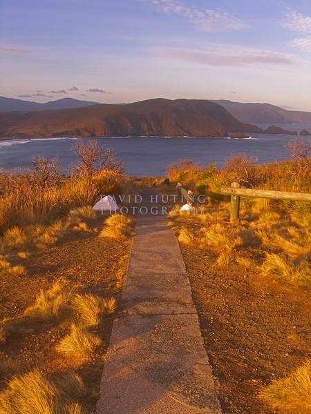 Sunset Path<br /> Bruny Island