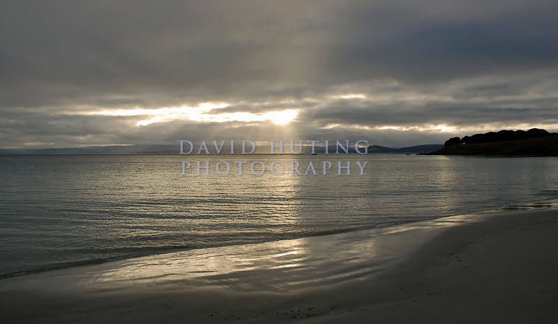 Silver Sunset from Maria Island