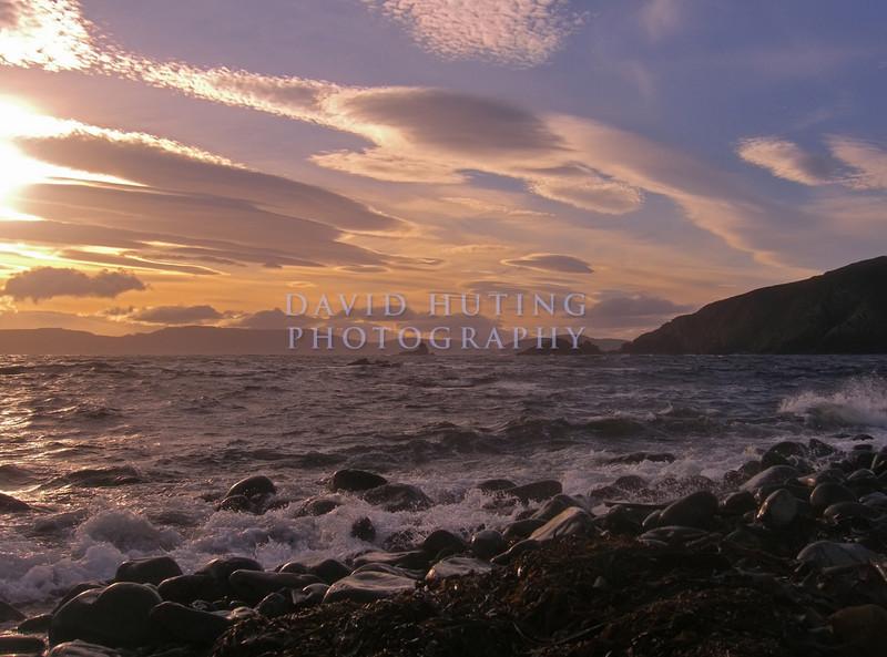 Colorful Coastline<br /> Bruny Island Shores