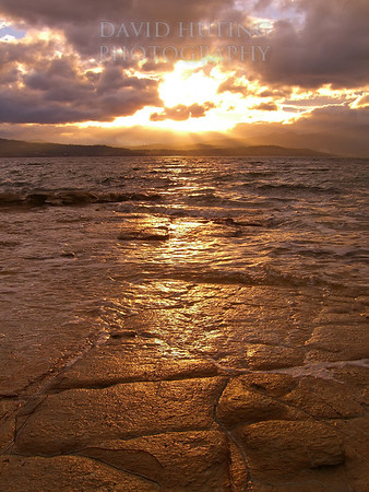 Epic Sunrise from South Arm<br /> Hobart Tasmania