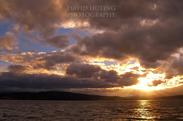 Stunning Tasmanian Sunset <br /> Near South Arm, Hobart