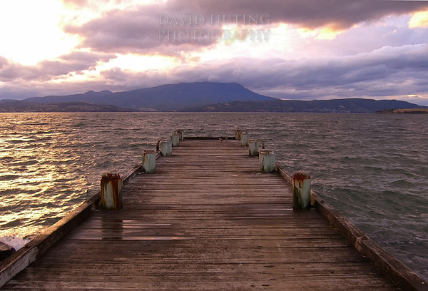 Sunset from the Dock<br /> South Arm, Hobart