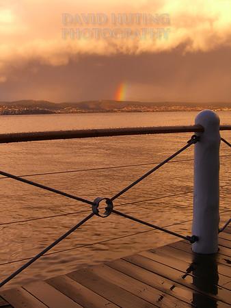 Rainbow After the Storm<br /> Hobart, Tasmania