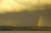 Rainbow Skies in Hobart, Tasmania