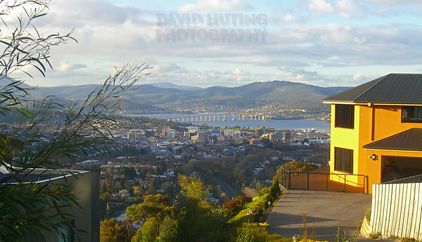Hobart Backyard View