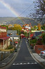 Colorful City View<br /> Hobart, Tasmania