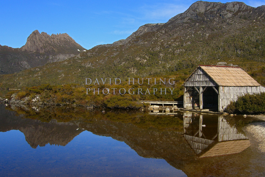 Dove Lake Boathouse