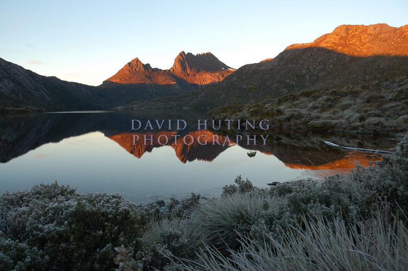 Day 3 - Cradle Mountain<br /> <br /> A frosty sunrise on our first day in Cradle Mountain National Park.