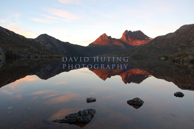 Another sunrise shot of Cradle Mountain