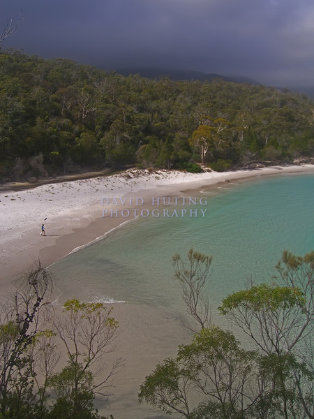 Walking the Beach<br /> Wineglass Bay