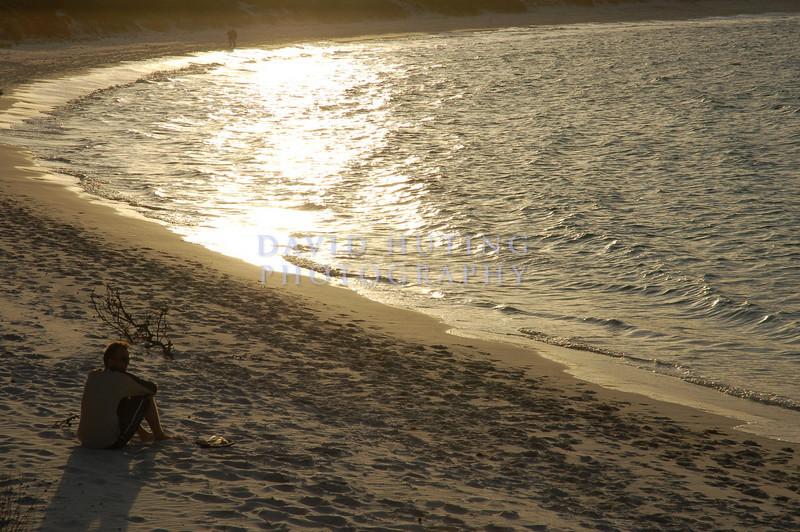 Reflecting at Wineglass Bay
