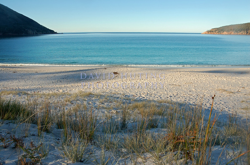 Wideangle Wineglass Bay Beach View