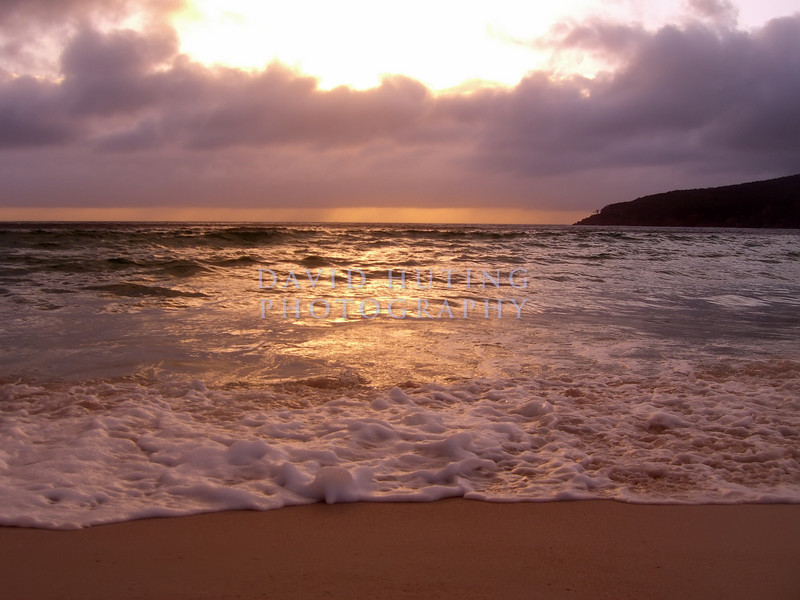 Early Morning Sunrise<br /> (right before my camera got soaked!)