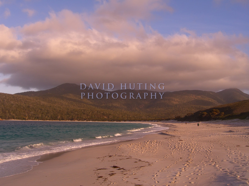 Wineglass Bay at Sunset