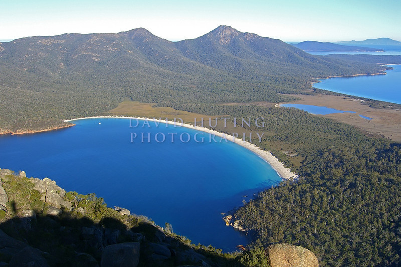 Wineglass Bay View - Zoomed