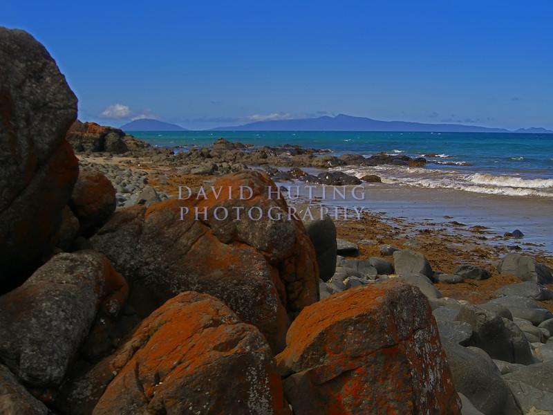 Red Rocks <br /> Tasmanian Coastline