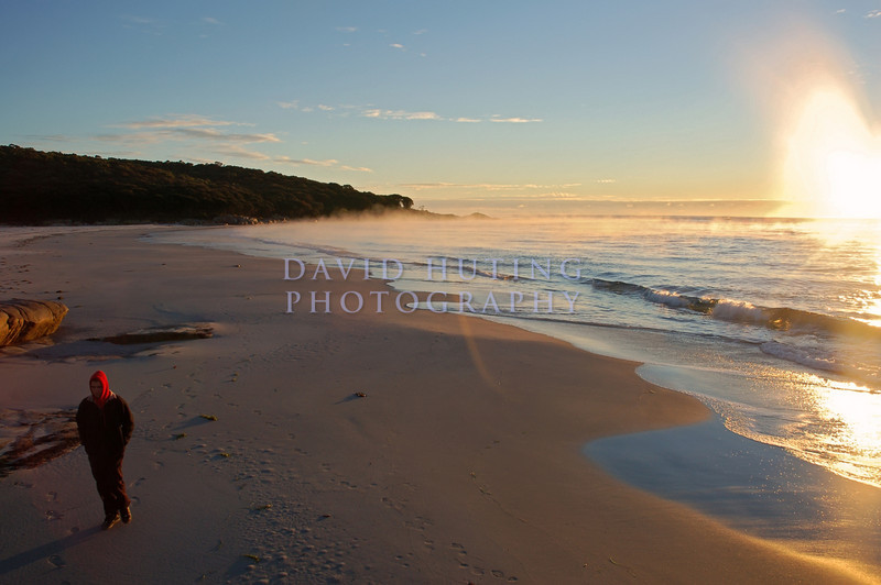 Walking the Beach<br /> Bay of Fires