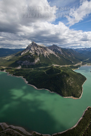 Barrier Lake Vertical